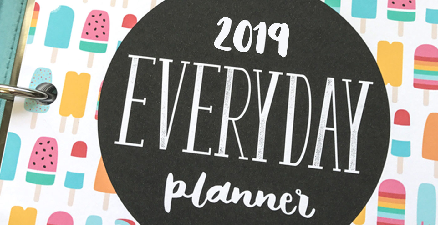 2019 EVERYDAY PLANNER + SALE