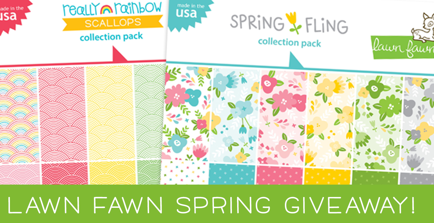 Spring 2019 NEW Releases for Lawn Fawn + GIVEAWAY {CLOSED}