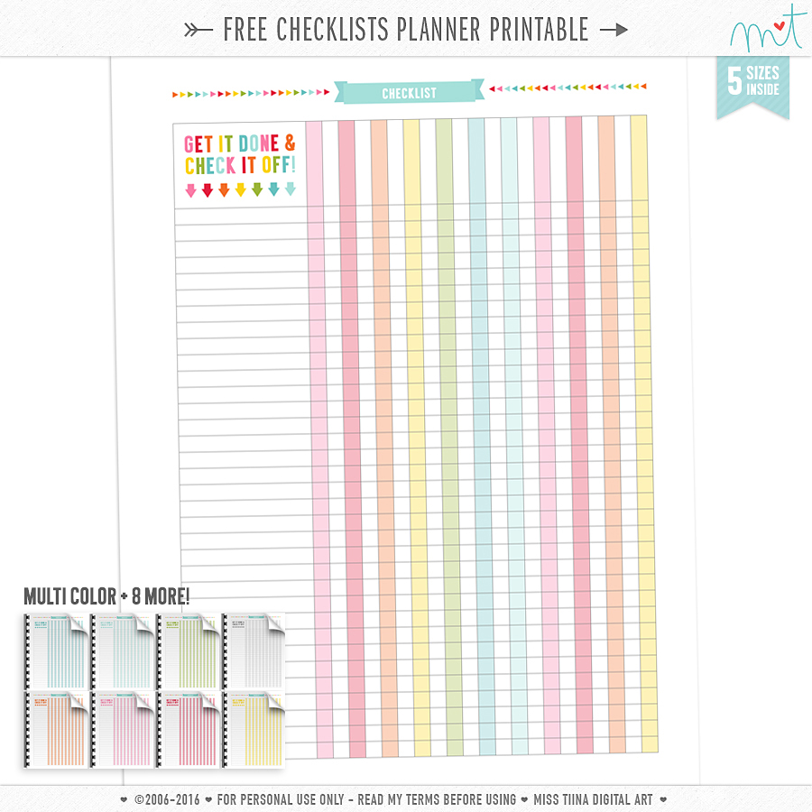 photograph about Printable Planner Inserts known as PLANNER PRINTABLES