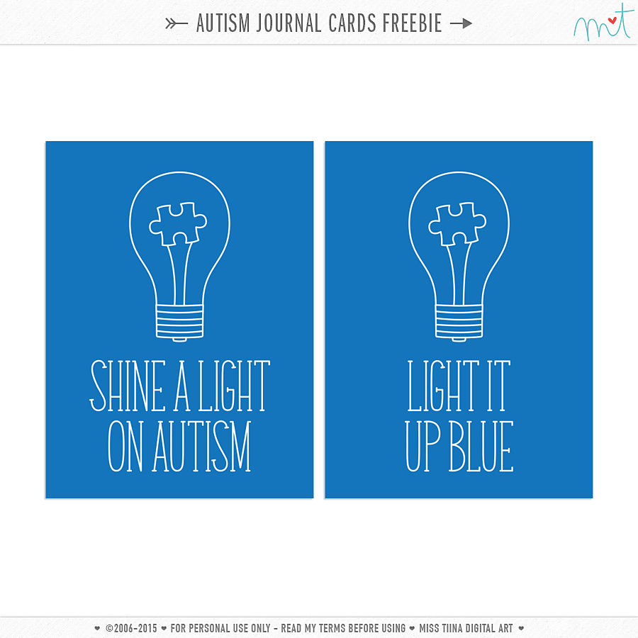 picture about Picture Cards for Autism Printable known as Glow a Gentle upon Autism Cost-free Printable Magazine Playing cards