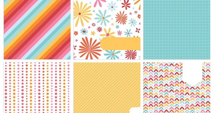 FREE Printables » Colorful Journal Cards
