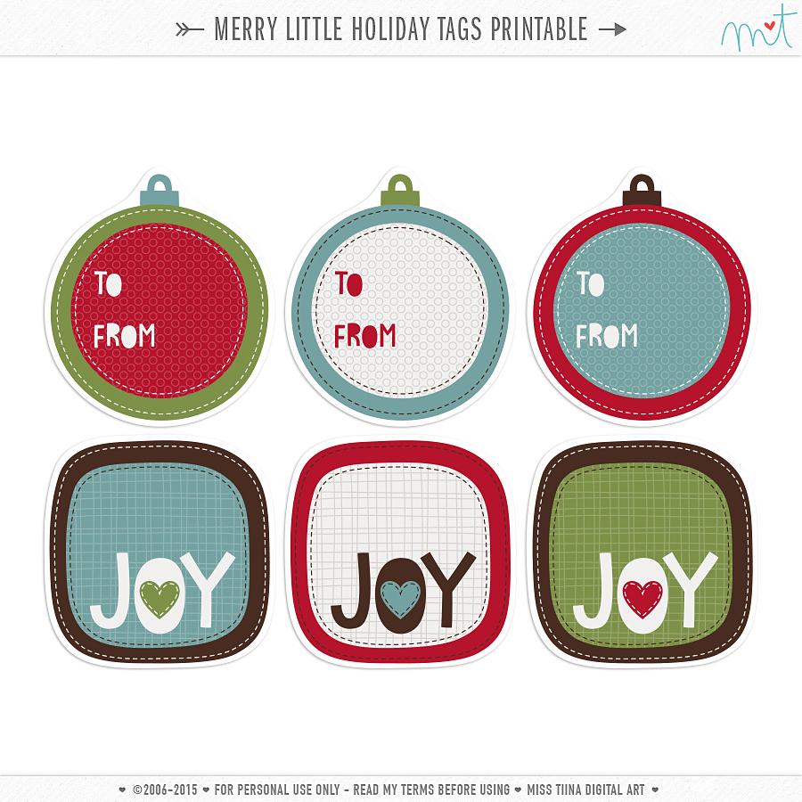 Merry Little Holiday {CU} & a freebie!