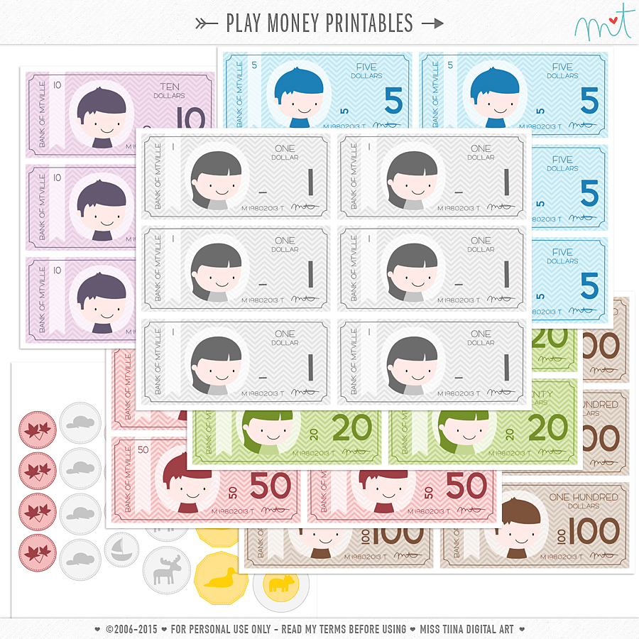 new vector saving up free printable play money