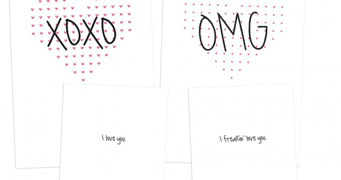 14 Days of FREE Valentine's Printables Day 7