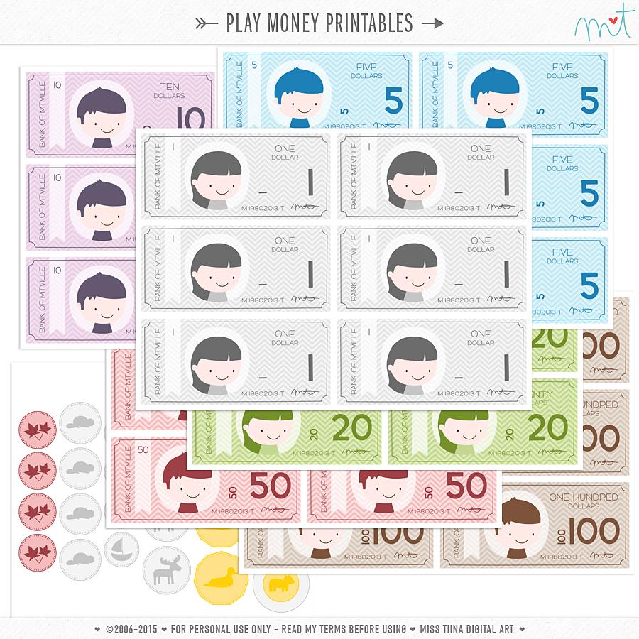 Worksheet Free Printable Money free printables
