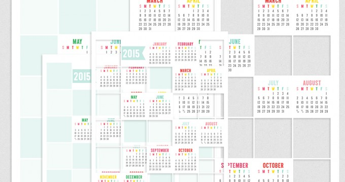 New 2015 Collage Calendar Pennysaver Dollar Deal