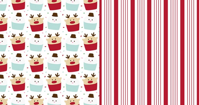 Christmas Sweets Patts No3 CU Freebie