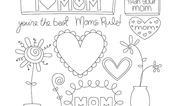 FREE with purchase CU Mother's Day Doodles!