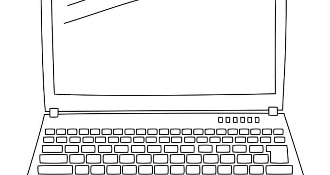 Laptop Doodle CU Freebie!