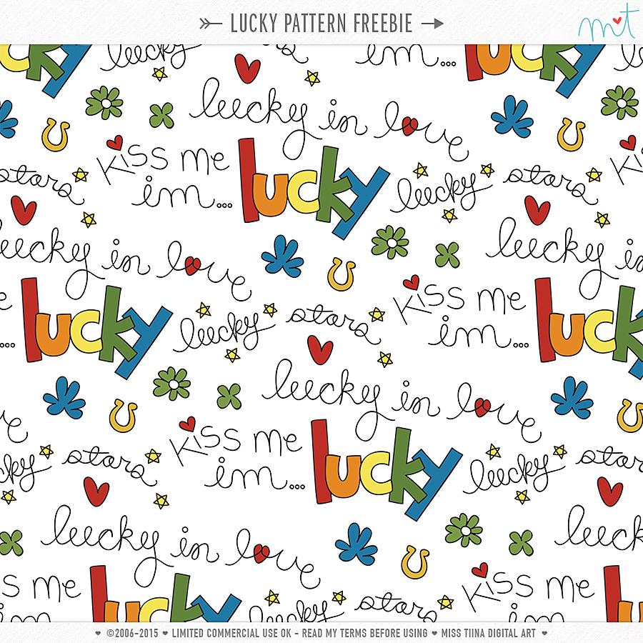 Lucky Pattern {CU} Freebie