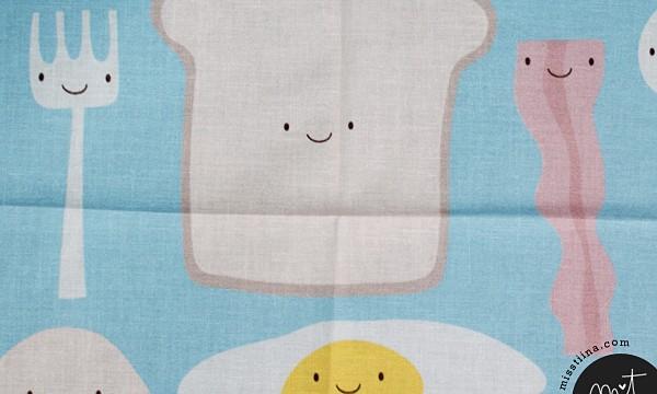 Mmm Breakfast fabric!