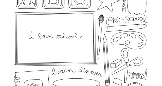 Confectionery – Pre-School Doodles {CU}