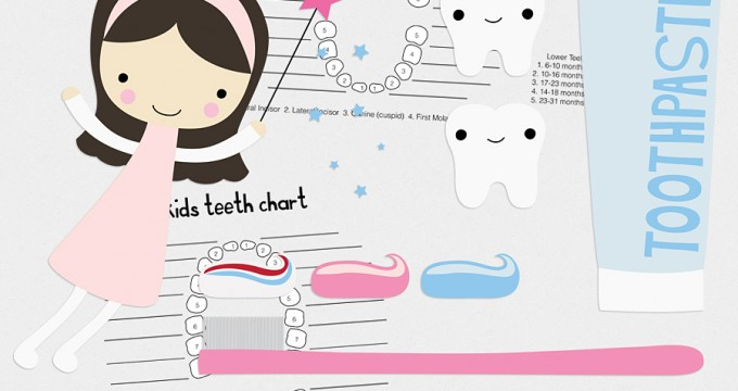 Vector Teethies & Charts {CU} Freebie