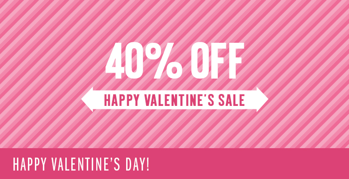 Happy Valentine's Day Sale