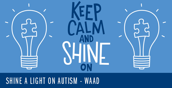 Shine a Light on Autism – WAAD – FREEBIE