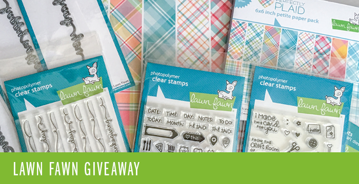 Spring 2016 NEW Releases for Lawn Fawn + GIVEAWAYS { CLOSED }