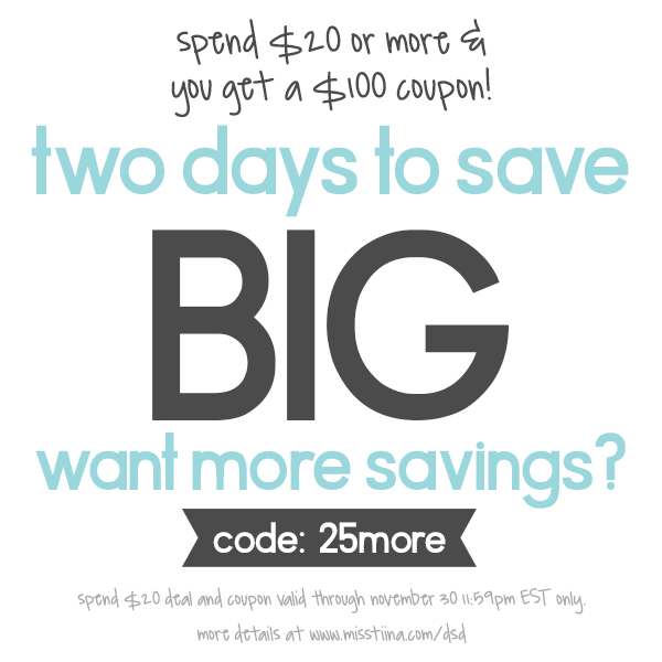 Two Days Left to Save BIG!
