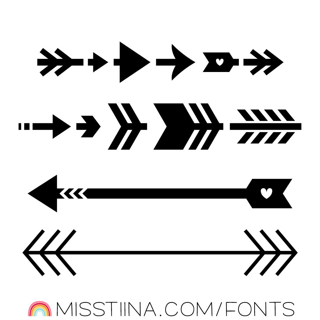 MTF Arrows