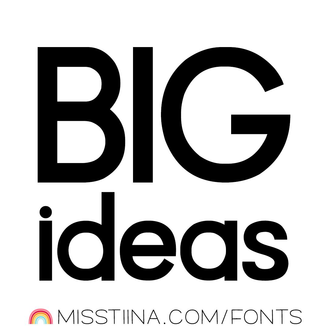 MTF BIG ideas