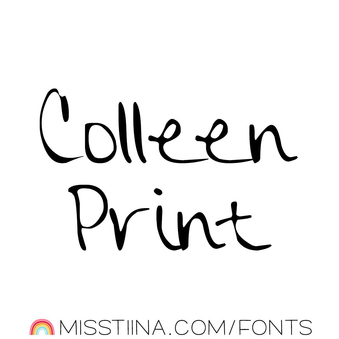 MTF Colleen Print