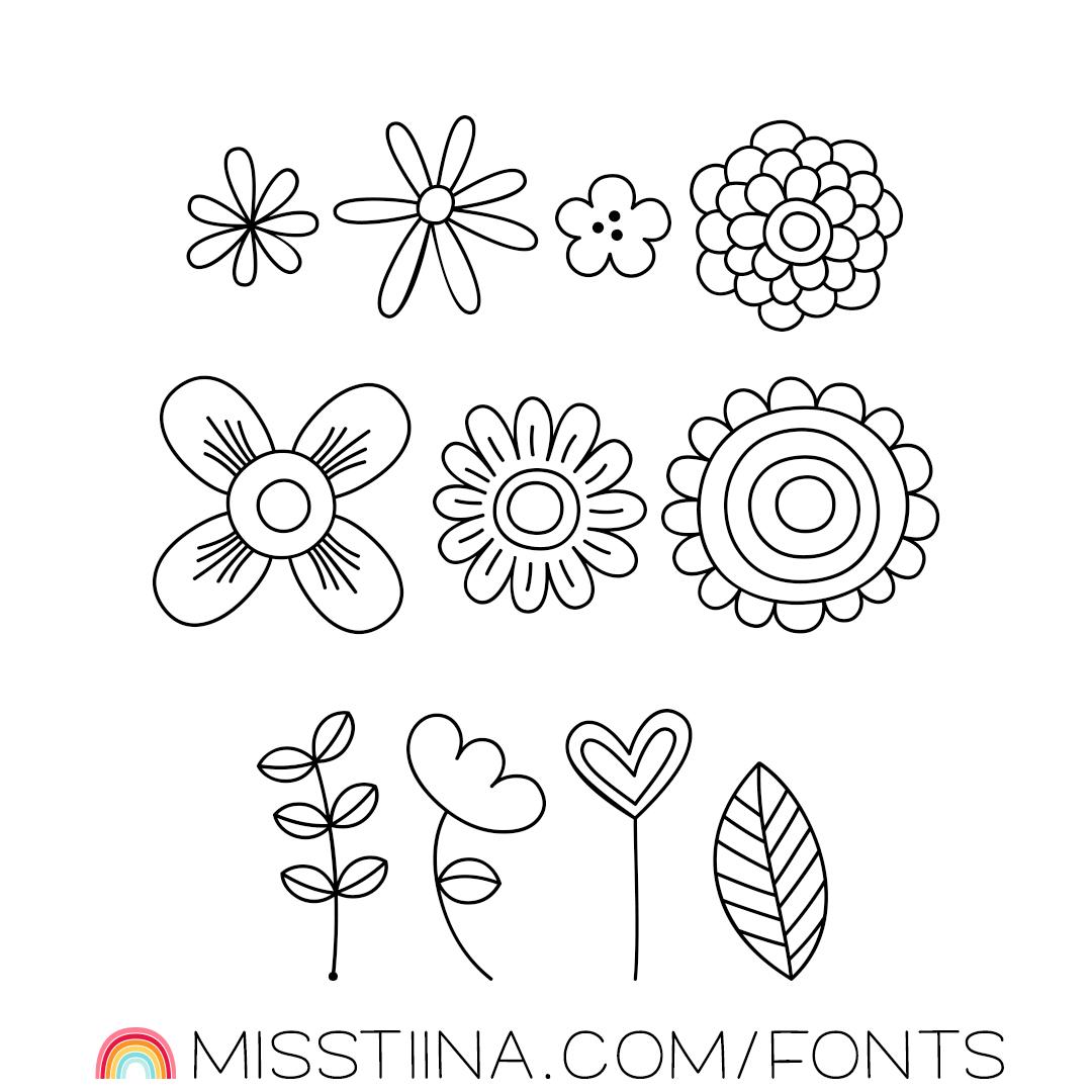 MTF Decorative Floral