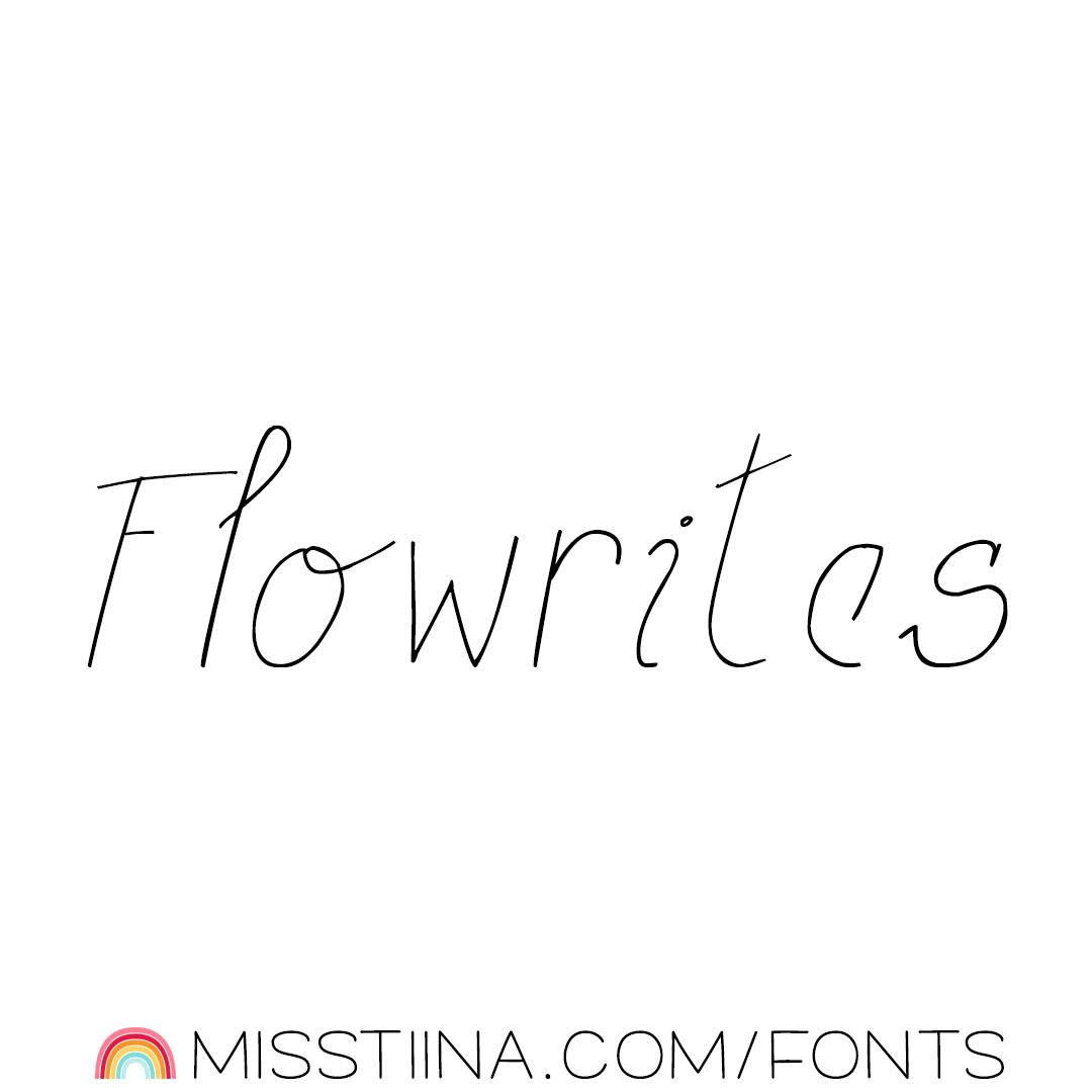 MTF Flowrites