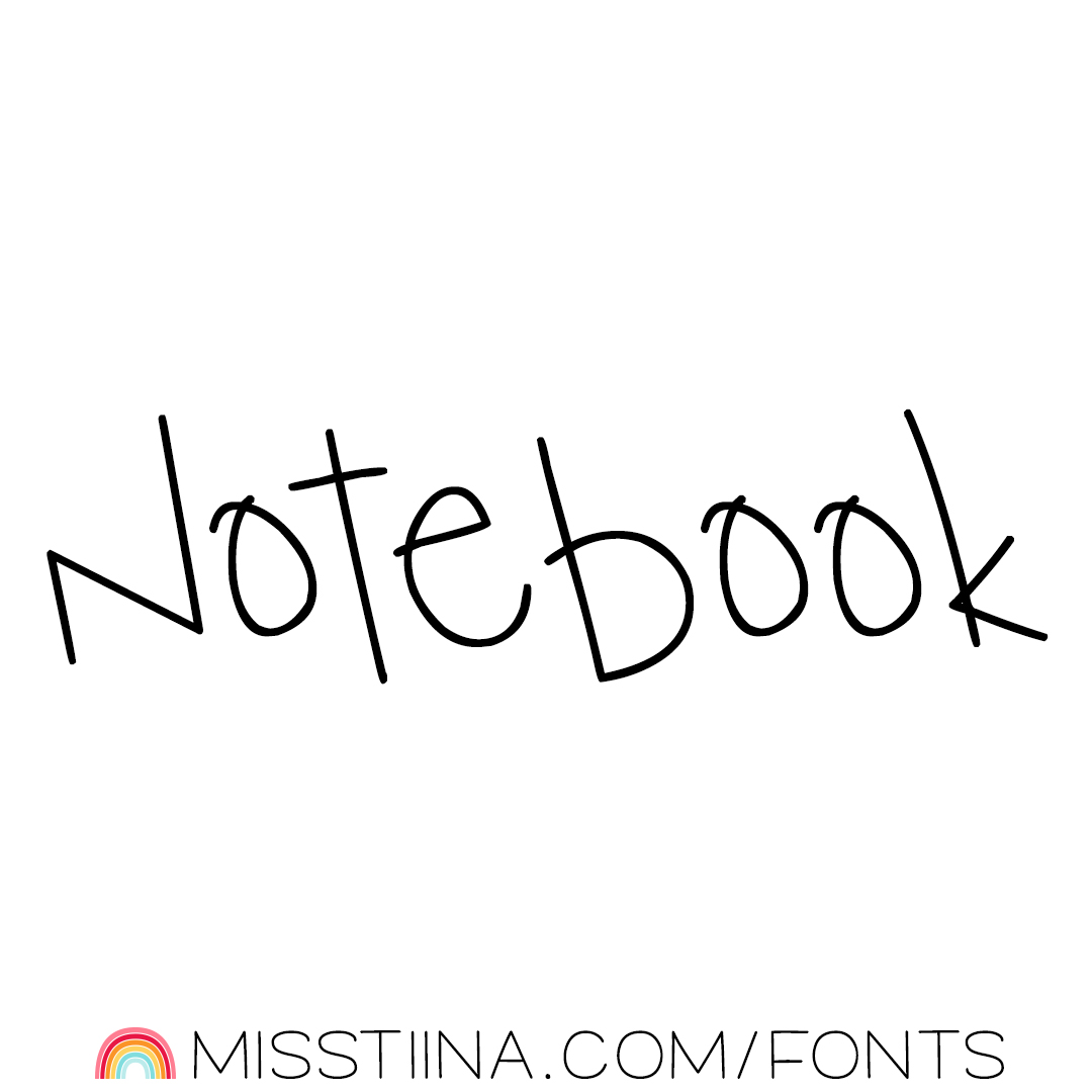 MTF Notebook