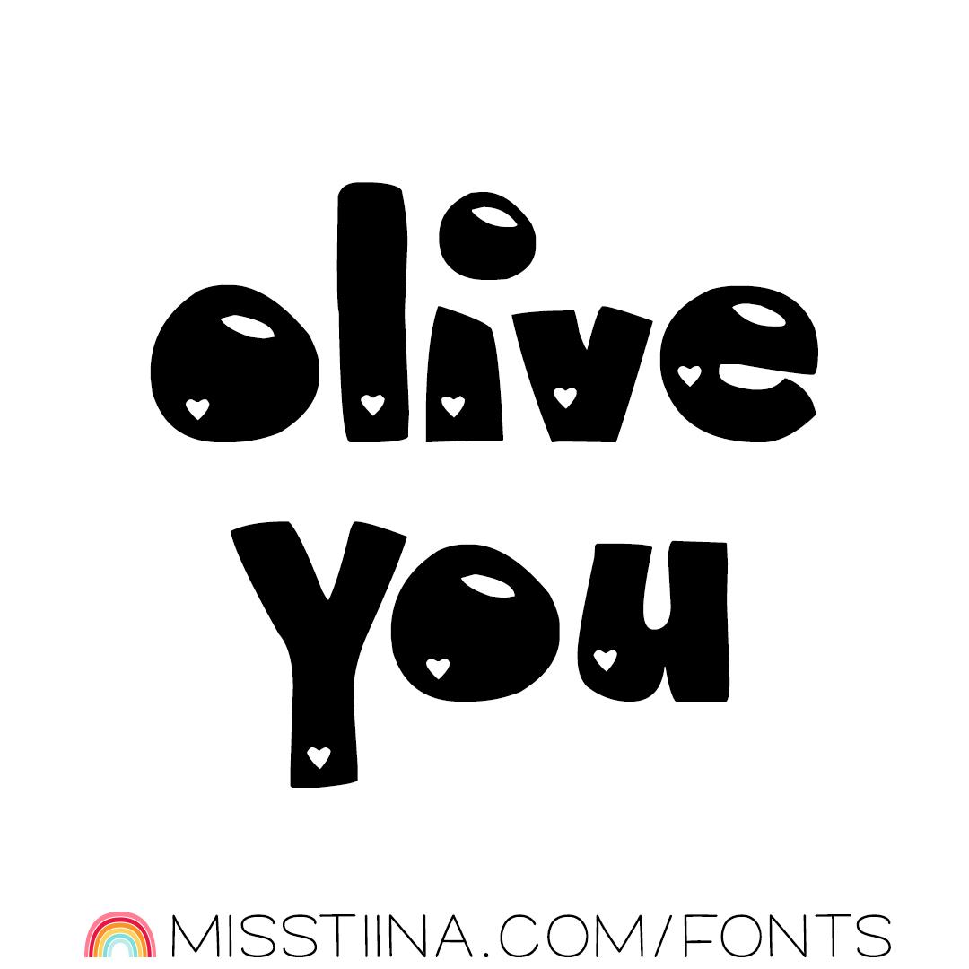 MTF Olive You