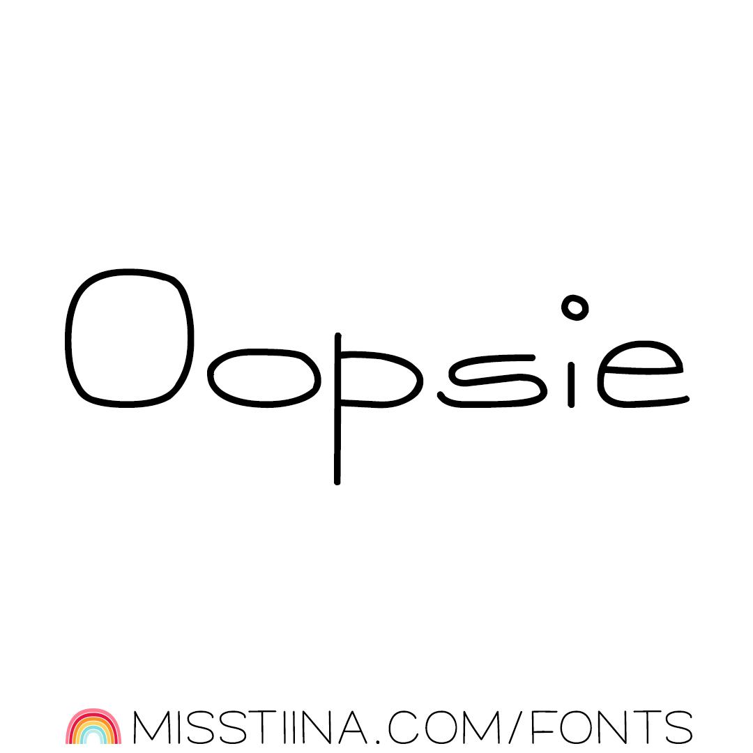 MTF Oopsie