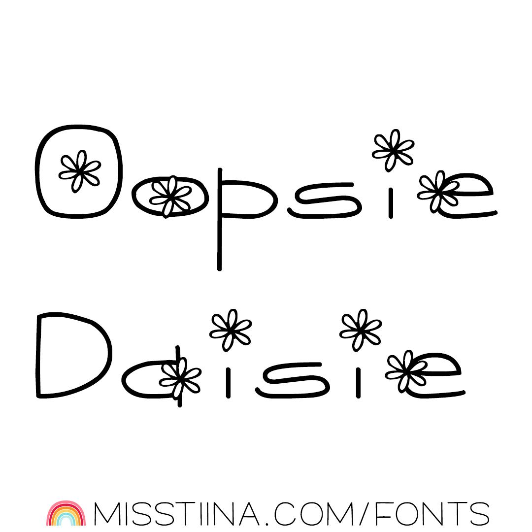 MTF Oopsie Daisie