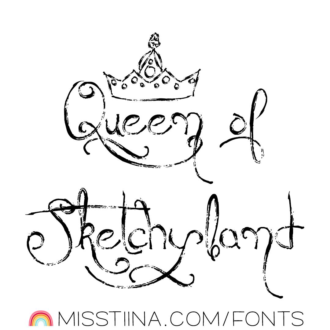 MTF Queen of Sketchyland