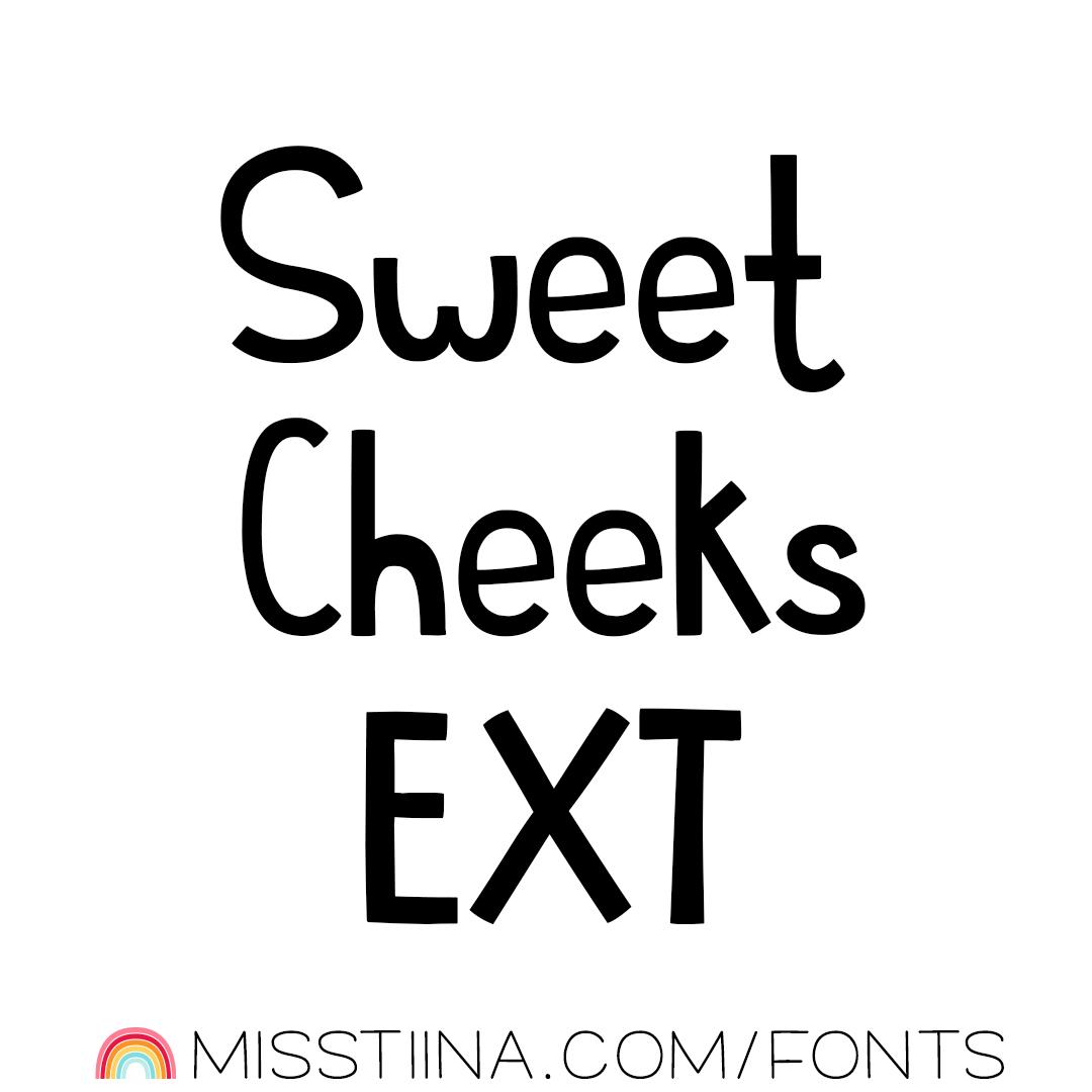 MTF Sweet Cheeks EXT