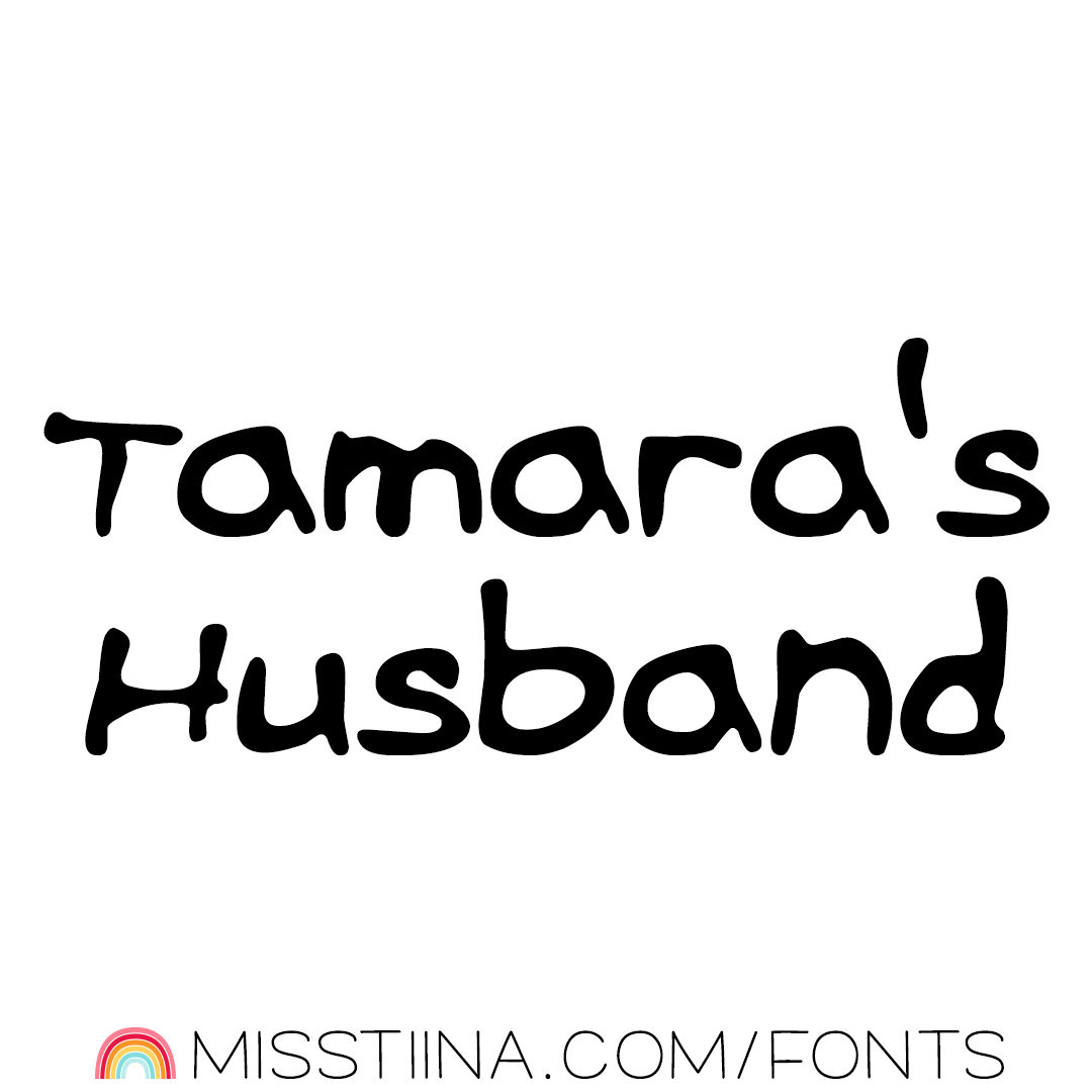 MTF Tamara's Husband