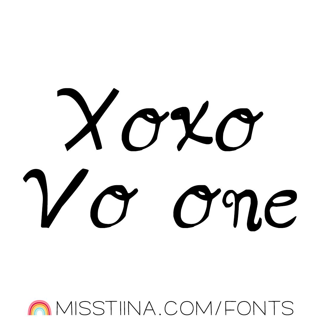 MTF XOXO Vo1