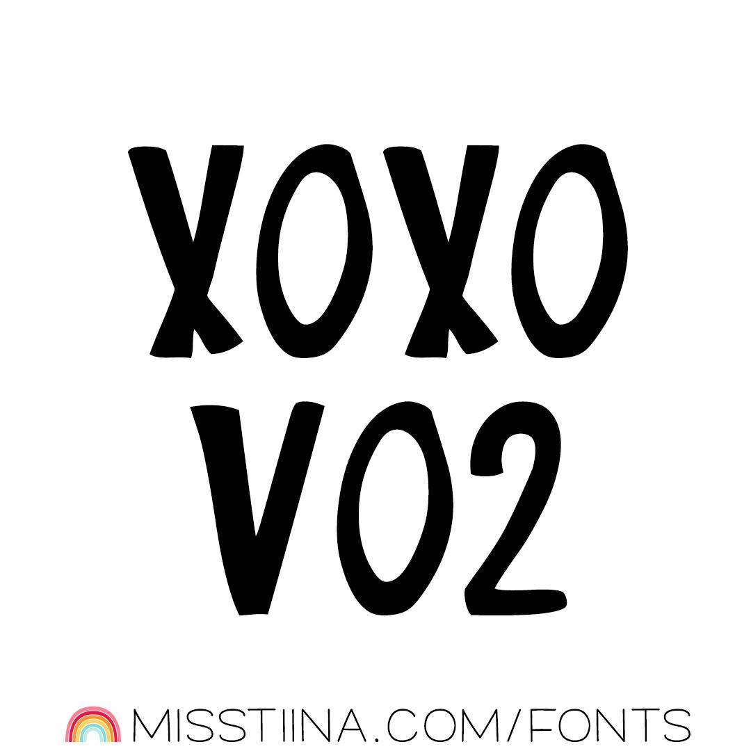 MTF XOXO Vo2