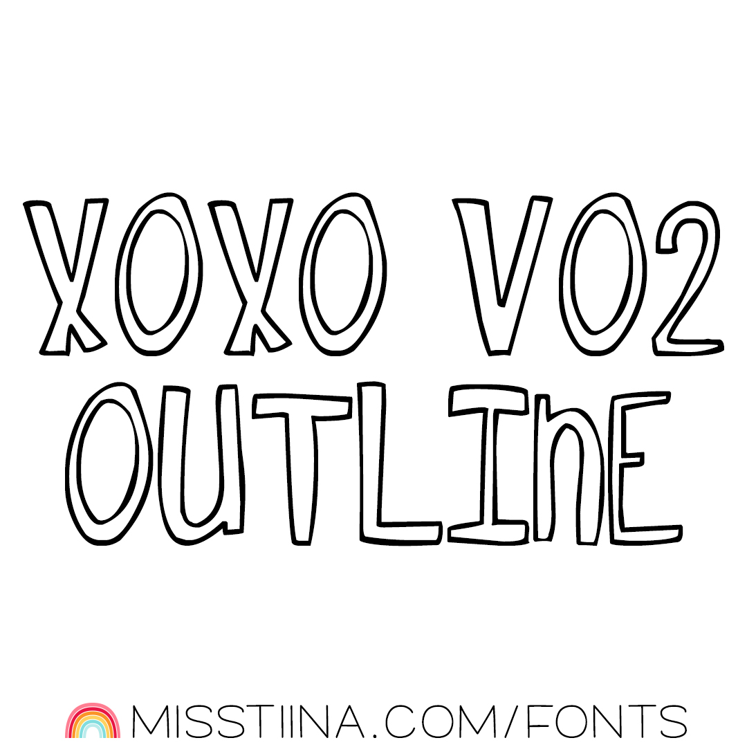 MTF XOXO Vo2 Outline