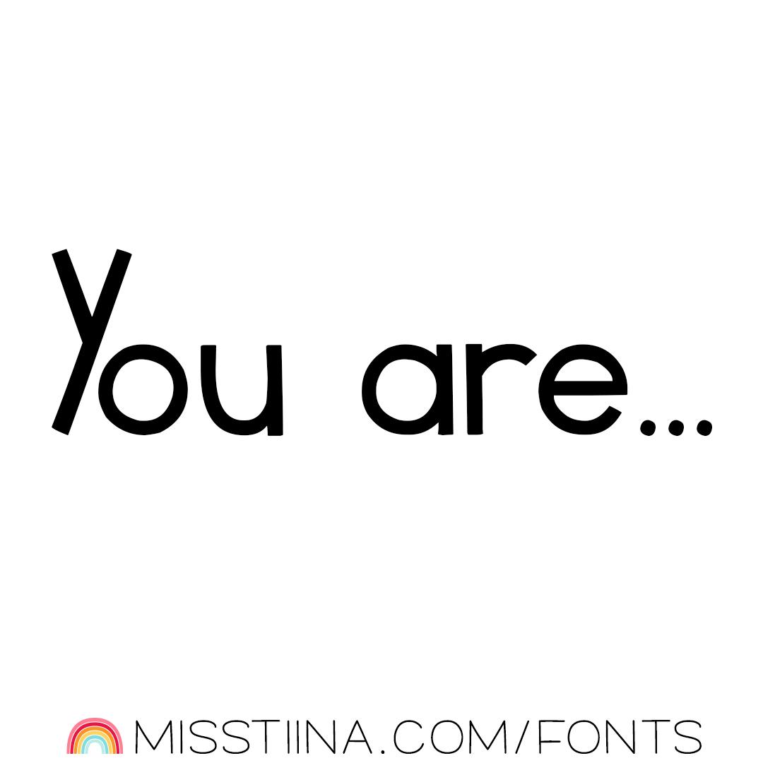 MTF You Are